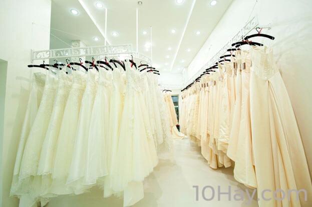 Cửa hàng may áo cưới đẹp nhất Đà Nẵng