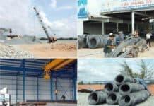 cửa hàng vật liệu xây dựng tại TPHCM