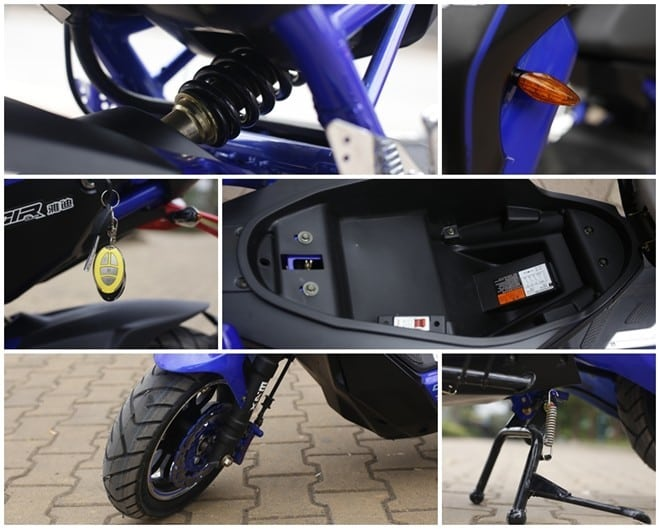 Top 10 cửa hàng phụ tùng xe máy tại Hà Nội
