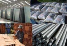 cửa hàng vật liệu xây dựng tại Bình Dương