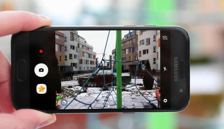 """Điện thoại Galaxy A3 2017- Camera sang trọng, thân hình """"nhỏ xíu anh thương"""""""
