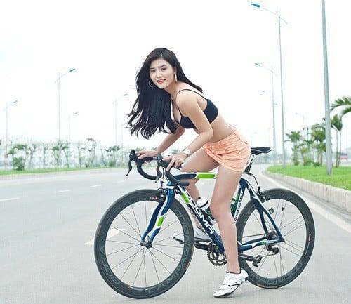 Đạp xe hàng ngày giúp cơ thể săn chắc, hấp dẫn hơn