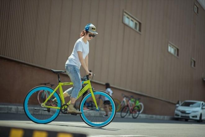 Xe đạp thể thaoFixgear, hiệu FORNIX- Thách thức địa hình